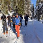 Pierwsze kroki na skiturach z SNW - Rysianka 2020